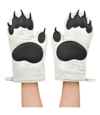 Fred & Friends Polar Bear Hands Oven Mitts