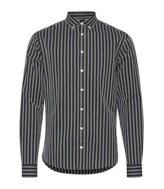 Casual Friday Anton Button Down L/S Stripped Dobby Shirt