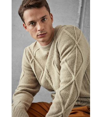 Casual Friday Karl Cable Knit Sweater