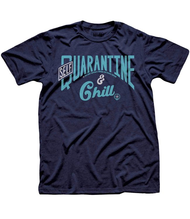 Solid Threads Self Quarantine Tee