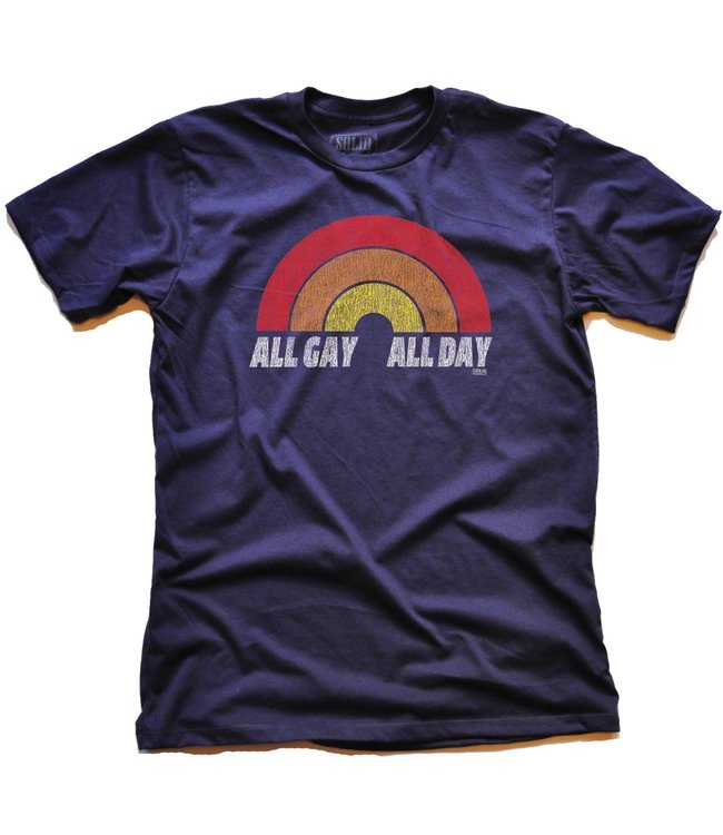 Solid Threads All Gay All Day Tee