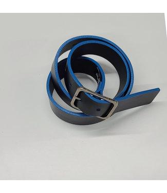 Brave Elon Belt w/ Blue Edges