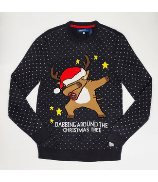 Blend Christmas Dabbing Sweater