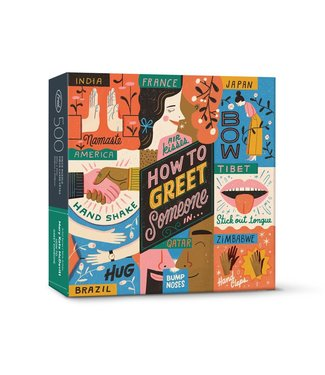Fred & Friends How to greet someone in - 500 pcs puzzle