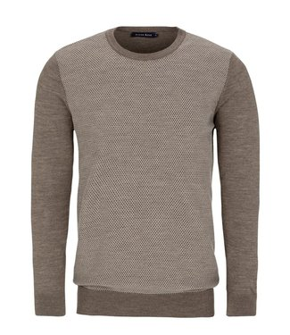 Stone Rose Honeycomb Pullover