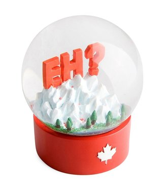 Main and Local Canada Eh? Snow Globe