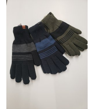 Blend Striped gloves
