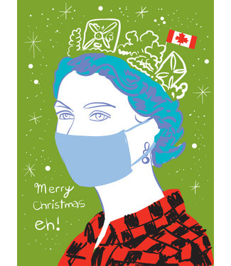 Wendy Tancock Queen & COVID card