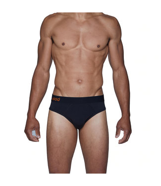 Wood Underwear Hip Brief - Black