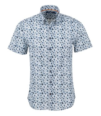 Stone Rose SS shirt with floral print
