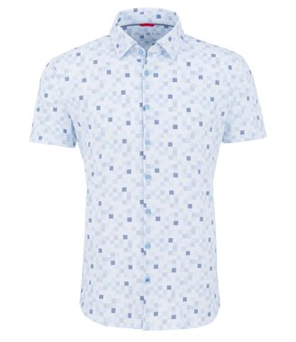 Stone Rose SS shirt with squares