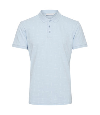 Casual Friday Pique Polo with tiny print