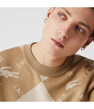 Lacoste Lacoste L!VE jacquard sweater