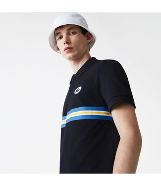 Lacoste Polo shirt with stripes