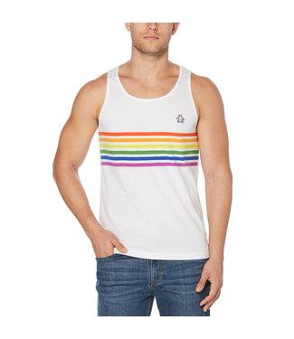 Original Penguin Pride Stripe Tank Top
