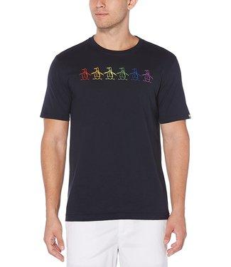 Original Penguin Pride Rainbow of Penguins T-Shirt