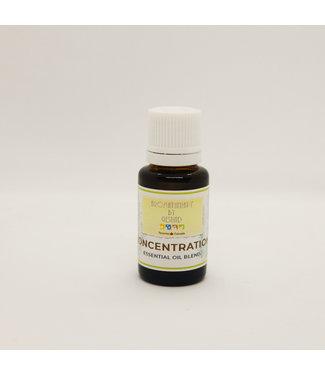 aromatherapy by gesund Essential oil blend - Concentration - aromatherapy by gesund