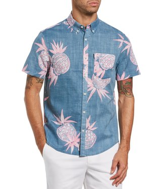 Original Penguin Pineapple Button Up S/S Shirt
