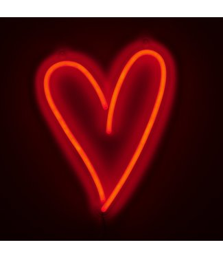 Amped&Co Heart LED Neon Wall Light