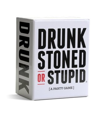 DSS Games Drunk Stoned or Stupid [A Party Game]