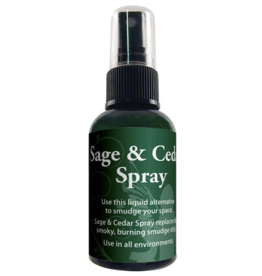 Sage and Cedar - Liquid Smudge Spray