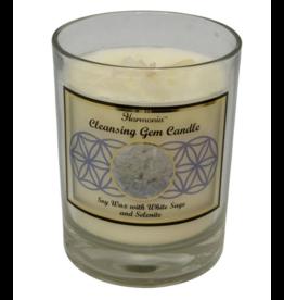Harmonia Soy Gem Candle - Cleansing Selenite