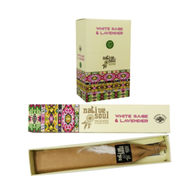 White Sage & Lavender Incense