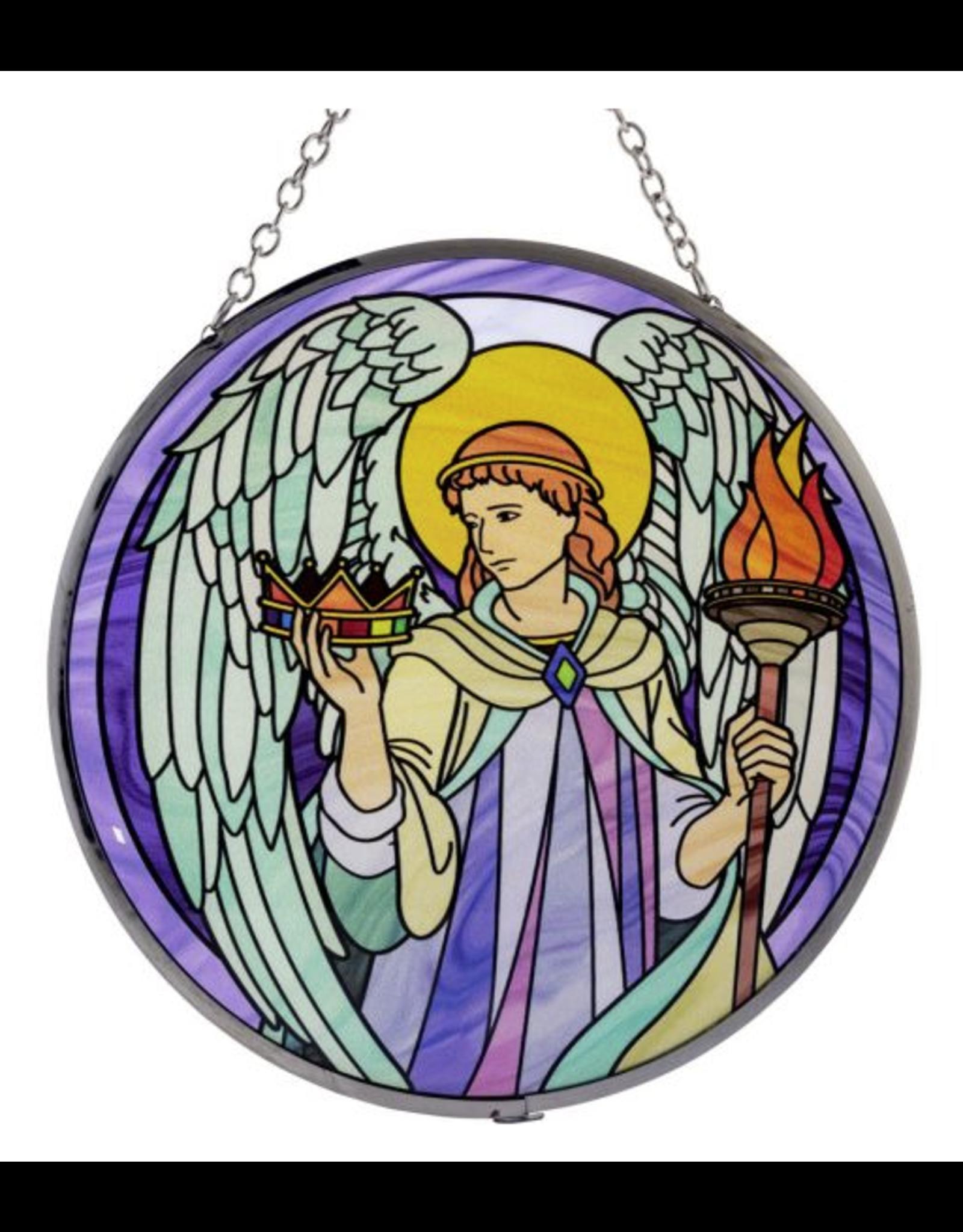 Glass Suncatcher 6in - Archangel