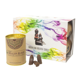 Goloka Backflow Incense Cones - Dragon Blood -24
