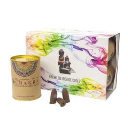 Goloka Backflow Incense Cones - Chakras -24