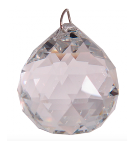 Prism Crystal  20mm Faceted Sphere