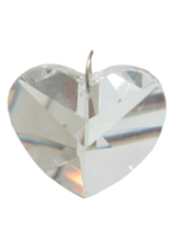 Crystal Prism 40mm Heart