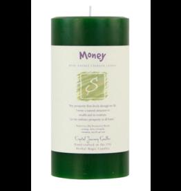 Money - Pillar Candle