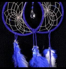 Blue Soul Connection Double Dream Catcher