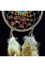 Brown Energy Flow Dream Catcher