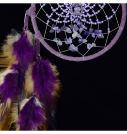 Purple Energy Flow Dream Catcher