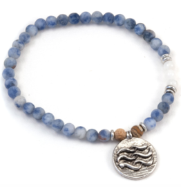 Water Element Bracelet - Silver