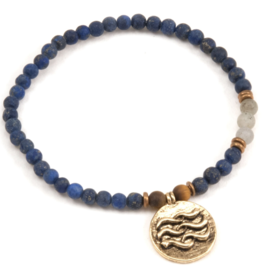 Water Element Bracelet - Gold