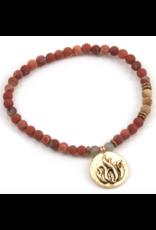 Fire Element Bracelet - Gold