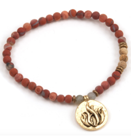 Fire Element Bracelet - Gold