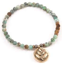Earth Element Bracelet - GOLD