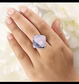 Tiffany Cushion-Cab Ring