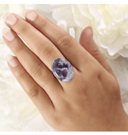 Tiffany Stone Ring - Adjustable