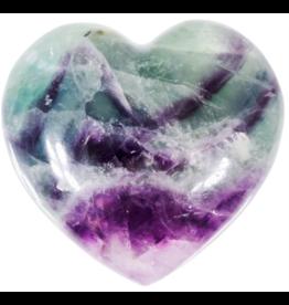 Fluorite Heart