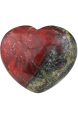 Dragon Bloodstone Heart