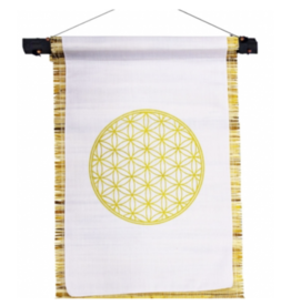 Small Seagrass Banner - Flower of Life
