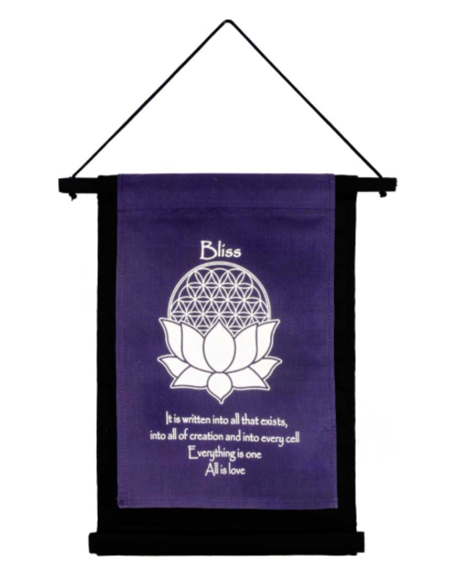 Bliss Banner-Purple Small