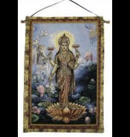 Tapestry Banner/ Wall Hanging  Lakshmi