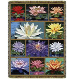 Tapestry Banner/ Wall Hanging Lotus