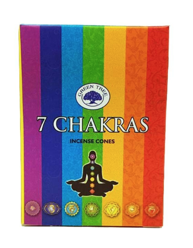 7 Chakras Cones